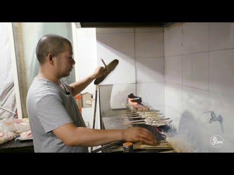 二更 | 这家让朱丹走后门的小店,除了杭州最好吃的烤五花,还有圈里最猛的八卦