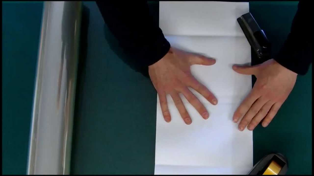 How To Make A Book Dust Cover : Fitting an archival mylar cover to a book s dust jacket
