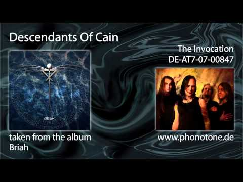 Descendants Of Cain - The Invocation
