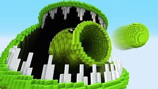 SNAP PEA! – PvZ vs Minecraft vs Smash