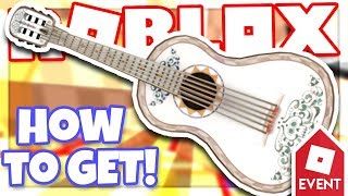 [EVENT] How to get ERNESTO DE LA CRUZ'S GUITAR | Roblox MeepCity