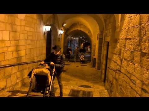 Why Doesn't Israel Celebrate Christmas? Merry Christmas From The Christian Quarter Of Jerusalem