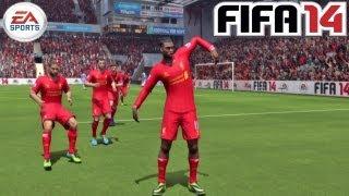 NEW Sturridge Ride The Wave :: EASFC Celebration (Tutorial) :: FIFA 14 [PS3 / Xbox 360] ᴴᴰ