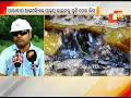 Oil leak from IOCL pipeline in Paradip