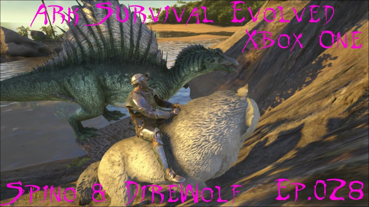 Ark survival evolved xbox one ep028 spino direwolf youtube ark survival evolved xbox one ep028 spino direwolf malvernweather Gallery