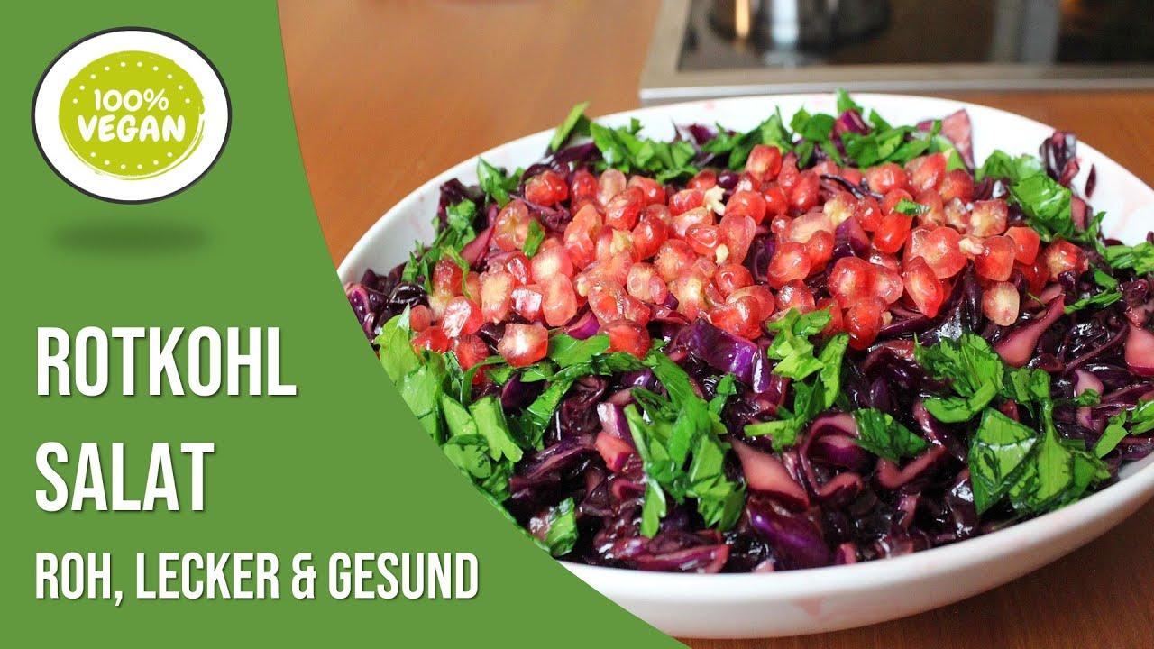 mein leckerer rotkohl salat winter salatrezept vegetarisch roh vegan canans rezepte youtube. Black Bedroom Furniture Sets. Home Design Ideas