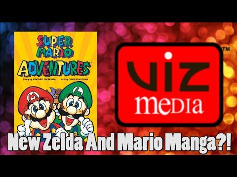 New Zelda and Mario Manga's Coming Thanks To VIZ Media!