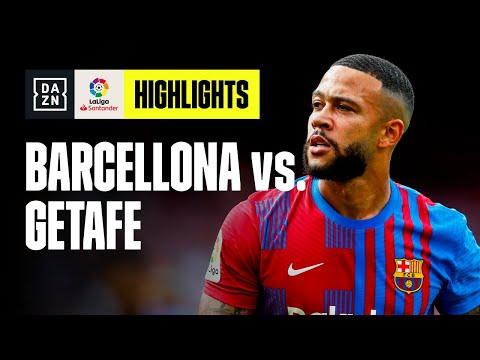Decide Depay: Barcellona-Getafe 2-1   LaLiga   DAZN Highlights