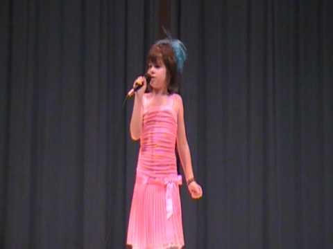 9 year old sings