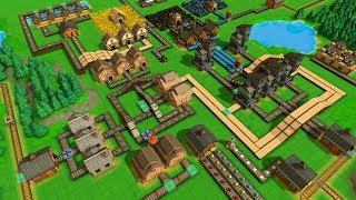 [LIVE🔴] Factory Town - First Look At Building An Automated City!   Factory Town Gameplay