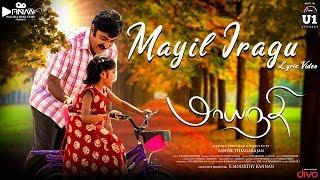 Maayanadhi - Mayil Iragu Lyric Video | Abi Saravanan, Venba | Ashok Thiagarajan | Raja Bhavatharini