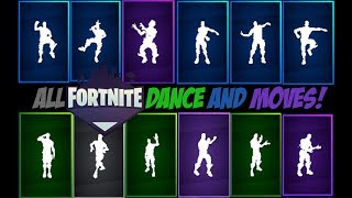 All Fortnite Dance and Moves | All the dances and Fortnite movements