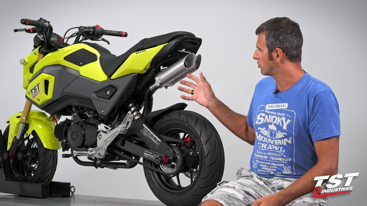2017 Honda Grom with Toce Exhaust