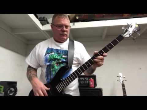 Stranglehold Bass Cover