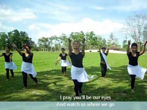 The Prayer with lyrics ( Interpretative Dance )
