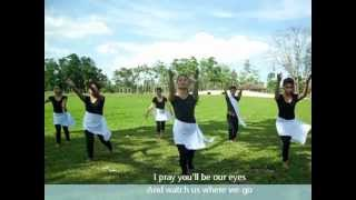 The Prayer with lyrics ( Interpretative Dance )