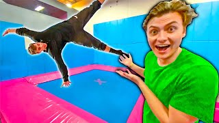 BEST BACKFLIP WINS!! (TRAMPOLINE PARK)