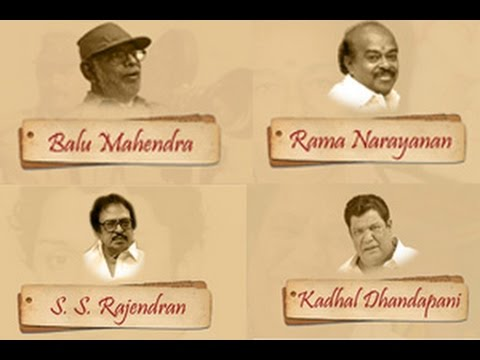 Kollywood 2014 : Notable Deaths | Balu Mahendra, Rama Narayanan, Anjali Devi, SS.Rajendran