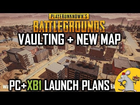 PUBG UPDATE - VAULTING AND CLIMBING - NEW MAP NOT TILL LAUNCH? XB1 SOON