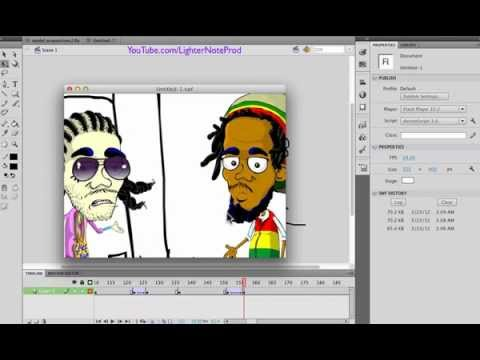 Adobe Flash Basics : How to Animate Camera Moves in your Cartoon