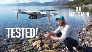 DJI MAVIC MINI - BEST Drone for the PRICE! (2.7K Footage)