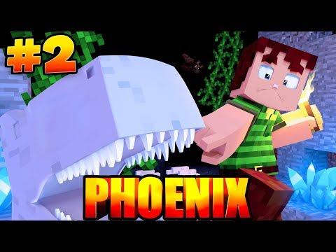 In der HÖHLE des DRACHEN?! - Minecraft PHOENIX #2