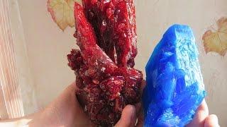 як зробити кольоровий кристал в домашніх умовах