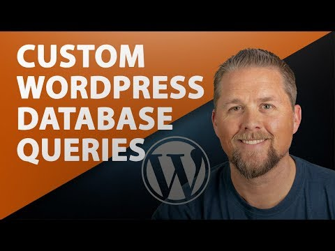 WordPress query database table
