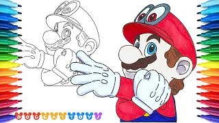 How To Draw The Super Mario Logo Coloring Pages Coloring Book