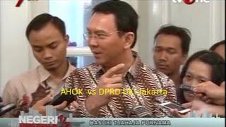 "Dana 12,1 Triliyun Berakibat AHOK vs DPRD DKI Jakarta Makin Seru Dengan Adanya ""Hak Angket"" DPRD"