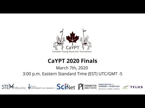 CaYPT 2020 Finals