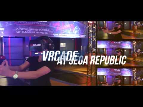 VRcade SEGA Republic, The Dubai Mall