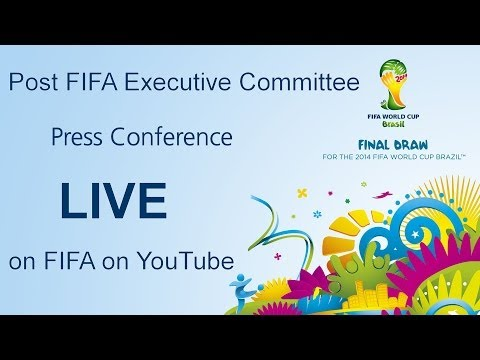 REPLAY: Post-FIFA Executive Committee press conference