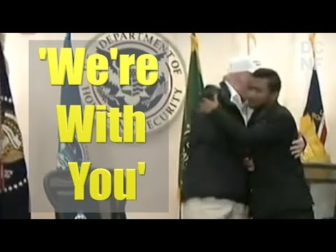 Trumps Seven Words To Fallen Cops Brother Mainstream Media Never Showed