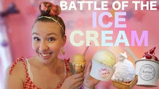Battle of the Ice Cream!