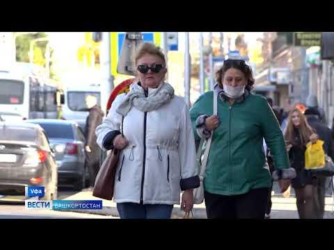 Коронавирус в Башкирии: число заболевших и умерших на 15 октября