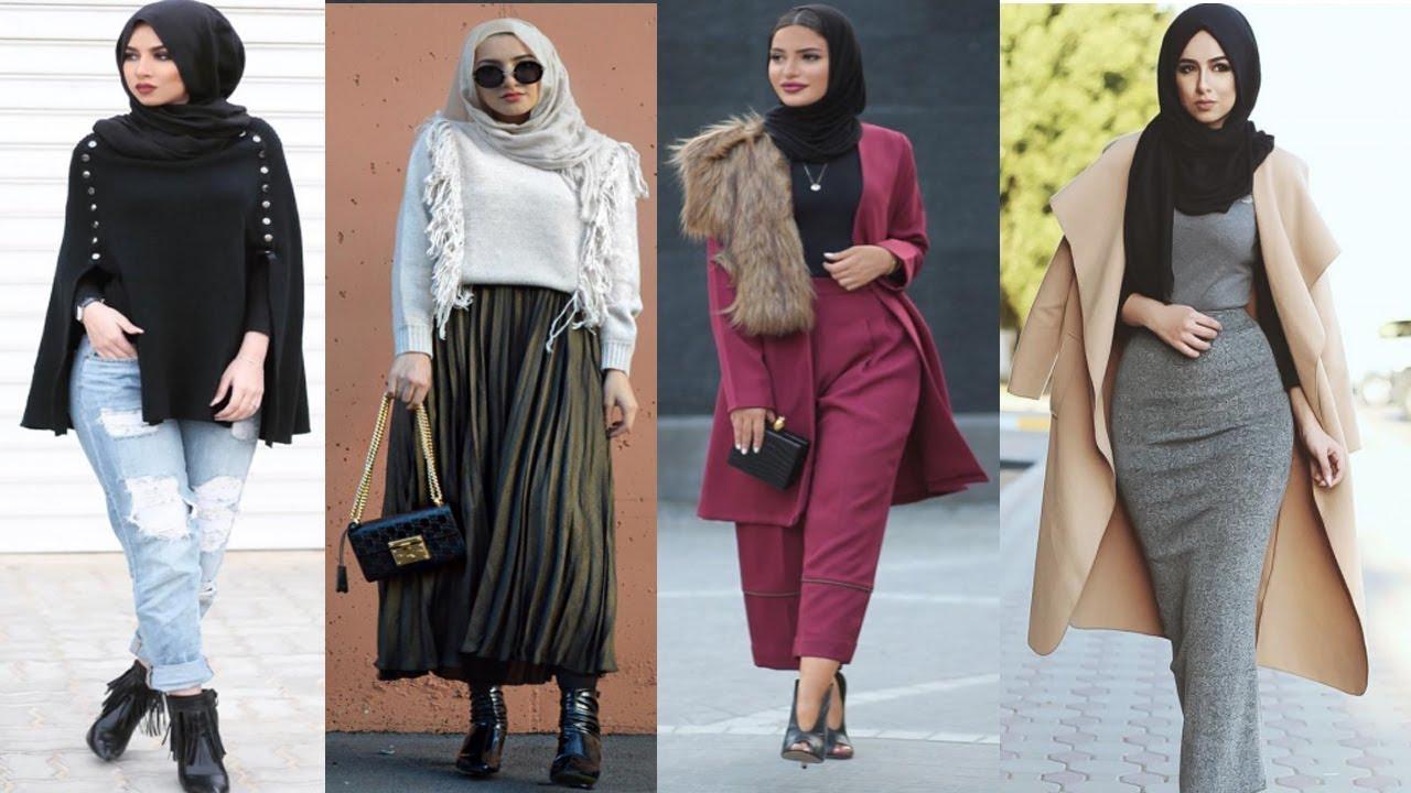[VIDEO] - Fall Stylish Winter Hijab Outfit Ideas 2