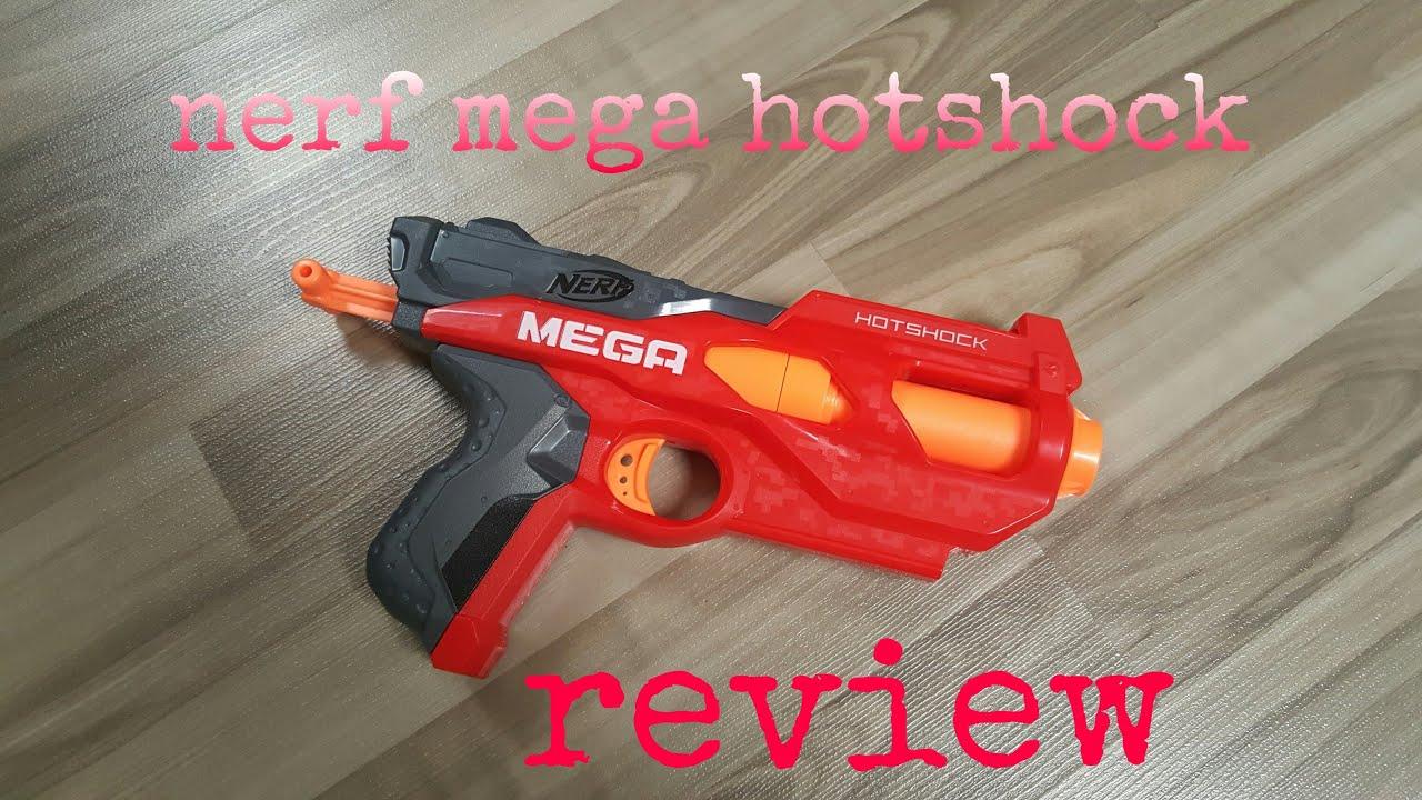 Review Nerf Mega Hotshock