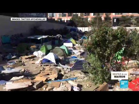 Covid-19: encore des centaines de demandeurs d'asile à la rue