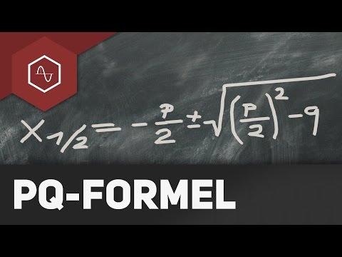 Pq-Formel – Quadratische Gleichungen lösen