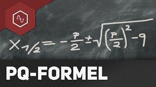 Pq-Formel – Quadratische Gleichungen lösen thumbnail