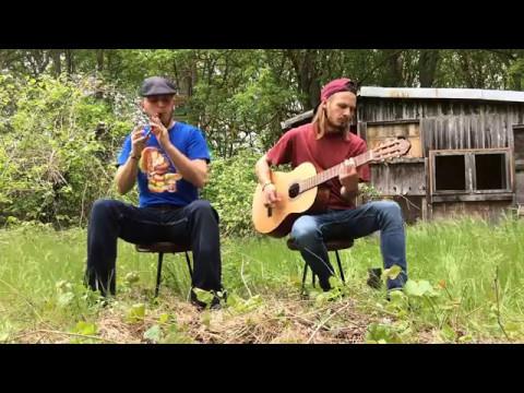 Woodnitza - An Irish Pub Song (The Rumjacks Cover Tin Whistle & Acoustic Guitar)
