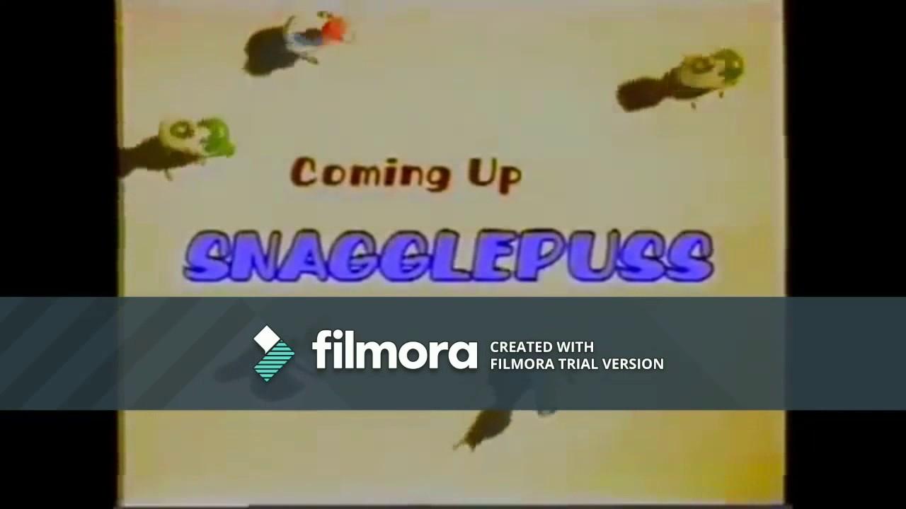 "(VERY RARE) Boomerang (Brazil): Snagglepuss ""Coming Up"