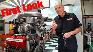 SUPER-TURBO DURAMAX FIRST LOOK: Building A Monster Truck Engine Pt 10