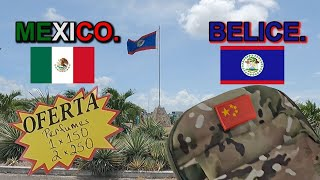 Frontera México Belice zona libre.  La Frontera de las Ofertas?