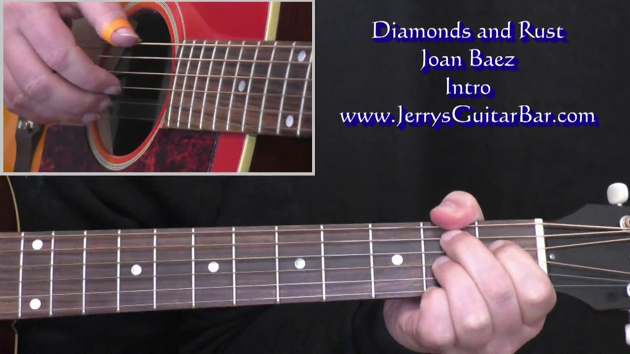 Joan Baez Diamonds And Rust Intro Lesson Youtube