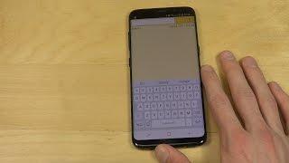 Samsung Galaxy S8 Keyboard - Review!
