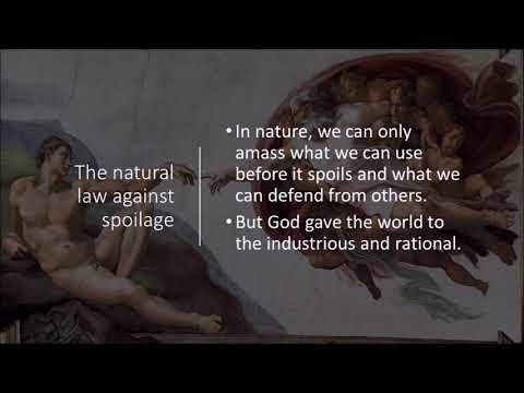 Classical Liberalism: Locke on the State of War, Slavery, and Property (3)