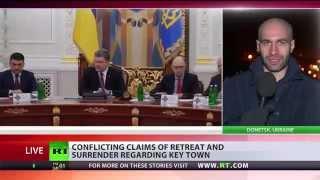 Poroshenko suggests sending EU-led peacekeeping mission to war-torn E. Ukraine