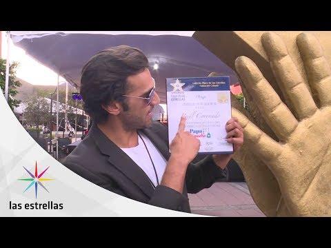Raúl Coronado y Juan Carlos Barreto reconocidos en Plaza de Las Estrellas | Las Estrellas
